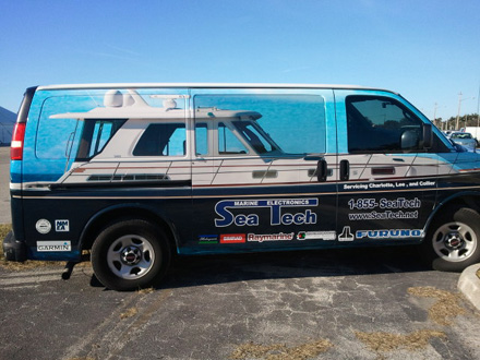... beauty of our Sabre 52 Salon Express to dress up a service van for their ...